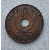 Британская Восточная Африка 10 центов, 1942 7-8-30