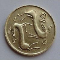 Кипр 2 цента. 1993