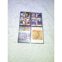 4 DVD  диска  с фильмами одним лотом