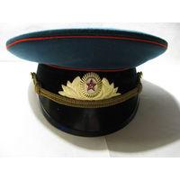 Фуражка парадная офицера ВС СССР. 54 размер.