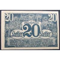 Нотгельд. 20 геллеров #78