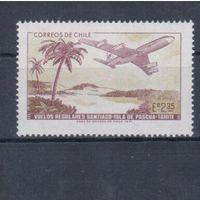 [1443] Чили 1971. Авиация.Самолет.