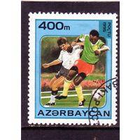 Азербайджан.Ми-259.Спорт.Футбол.Чемпион ат мира.Франция.1998.