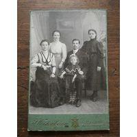 Семейное фото, СПБ, до 1917 г.