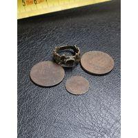 Кольцо и монеты. Копанина. С 1 рубля без МЦ!