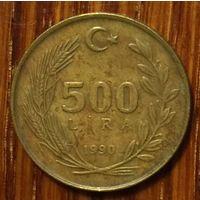 Турция - 500 лир 1990