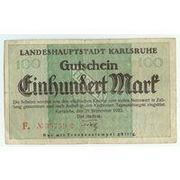 Германия, 100 марок 1922 год.