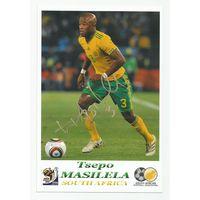 Tsepo Masilela(ЮАР). Живой автограф на фотографии.