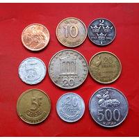 9 монеток - 8 стран. #46 Старт с 10 копеек.