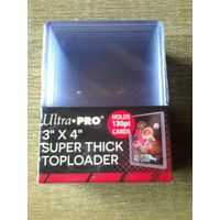Упаковка пластиковых топлодеров Ultra Pro 130 pt.