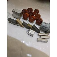Резисторы пп3-40,сп5-22, реле.
