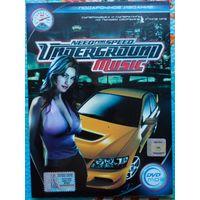 Need For Speed Underground. DVD-MP-3
