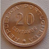 Мозамбик. 20 сентаво 1974 год  KM#88
