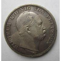 Пруссия. 1 союзный талер 1867 А.  10Е-23