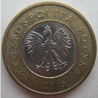 Польша 2 злотых 2016 г.
