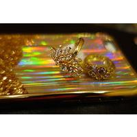 Кольца под золото с камнями
