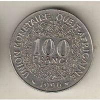 Западная Африка 100 франк 1996