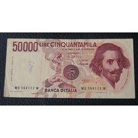 Италия, 50.000 Лир 1984