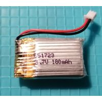 Аккумулятор (Li-po) 3.7V 180 mAh.