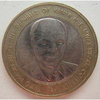 Кения 40 шиллингов 2003 г. 40 лет Независимости