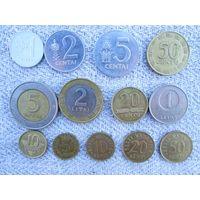 Монеты Литвы и Эстонии