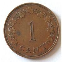 Мальта, 1 цент, 1972 г.