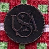 США 1 цент 1785 года