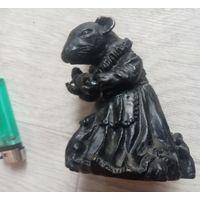 """Касли """"Мышь с мышатами"""" или """"Мышь-мама"""", чугунное литье, 2007г."""