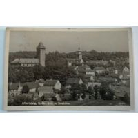 "Открытка города ""Аллентштайг"" 30-е годы. Австрия."