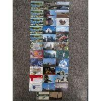 35 разных телефонных карт Беларуси Лот 2