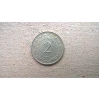 Югославия 2 динара, 1974г. ^