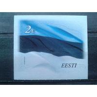 Эстония 2014 Гос. флаг** самоклейка
