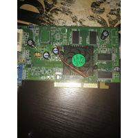 Видеокарта AGP ATI Radeon 9600 pro