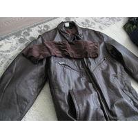 Куртка лётная новая натуральная кожа р.50-5