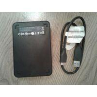 Жесткий диск HDD WD 500 USB 3.0 неисправный