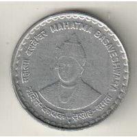 Индия 5 рупия 2006 Басава /магнетик/