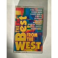 """Аудиокассета """"The Best From The West"""" 1996 год"""