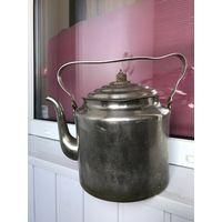 Большой чайник 1951 г Тула Латунь 5 литров