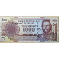 Парагвай 1000 гуарани 2005г.
