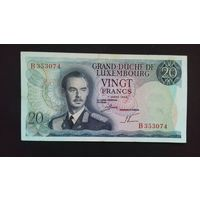 20 франков 1966 года. Люксембург. Распродажа