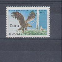 [1109] Финляндия 1970.Фауна.Охрана природы.Птицы.