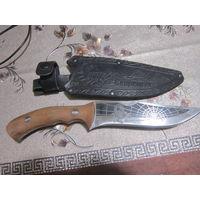 """Подарочный туристический нож """"Скорпион"""" сделанный в Кизляре"""