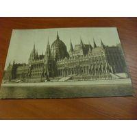 Почтовая карточка  Будапешт. Здание парламента