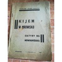 Книга польша 1934 kijem w mrowisko редкость