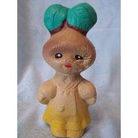 Редисочка - резиновая игрушка СССР, пищалка
