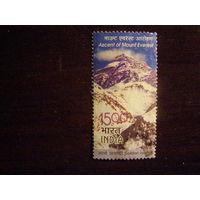 Индия 2003 Золотого юбилея восхождения на Эверест Тенцинг Норгей и Эдмунд Хиллари