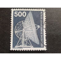 Берлин 1976 стандарт, радиотелескоп Михель-5,0 евро гаш.