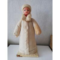 Елочная игрушка СССР снегурочка 33 см