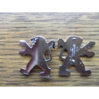 Пежо (peugeot) эмблема для ключа.