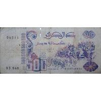 Алжир 500динар 1998г. НЕЧАСТАЯ